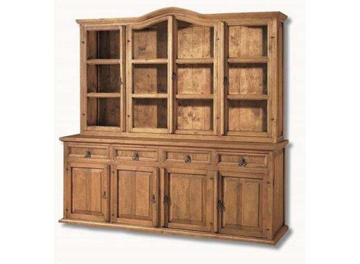 vitrina-madera-rustica-2-metros-ancho-para-salon