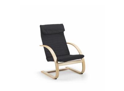 Butaca para relax de estilo moderno de madera