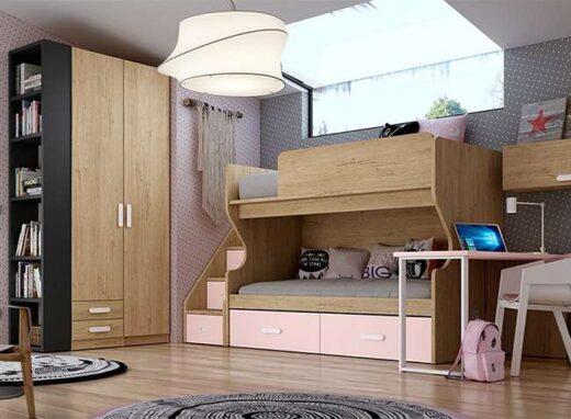 cuartos-con-literas-juveniles-con-quitamiedos-y-escaleras-y-zona-de-estudio