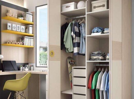 diseno-dormitorio-juvenil-cama-compacta-con-zona-de-estudio