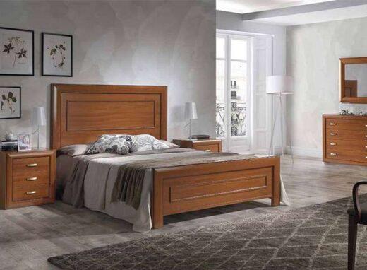 dormitorio-cama-matrimonio-con-cabecero-recto-y-mesitas-madera
