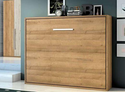 dormitorio-de-matrimonio-con-cama-abatible-horizontal-madera-clara