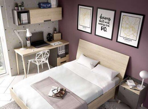 dormitorio-juvenil-cama-135-con-cabecero-mesita-y-banera