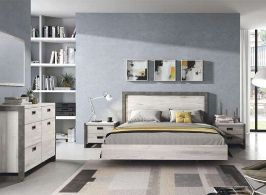 dormitorio-matrimonio-blanco-moderno-con-banera-y-cabecero-mesitas-2-cajones