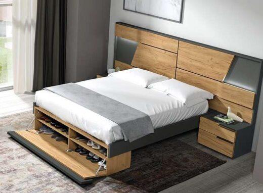 dormitorio-matrimonio-con-zapatero-y-cabezal-led-mesitas-dos-cajones