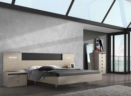 dormitorio-matrimonio-led-lineas-rectas-madera-detalles-negro