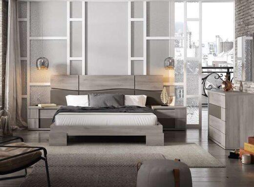 dormitorio-matrimonio-moderno-con-bancada-de-patas-anchas