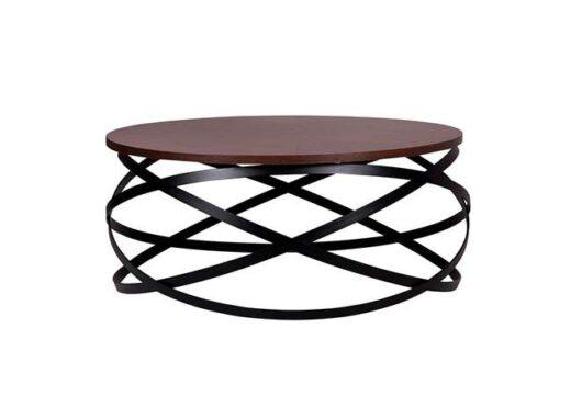 mesa-de-centro-redonda-madera-base-anillos-estilo-industrial