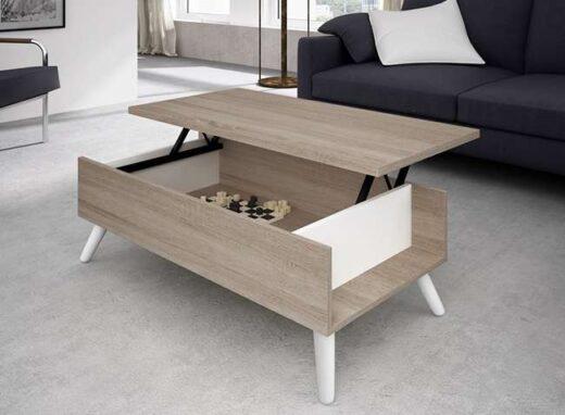 mesa-de-centro-vintage-elevable-en-blanco-roto