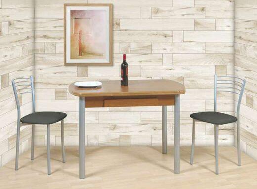 mesa-para-cocina-ovalada-tipo-libro-y-cajon