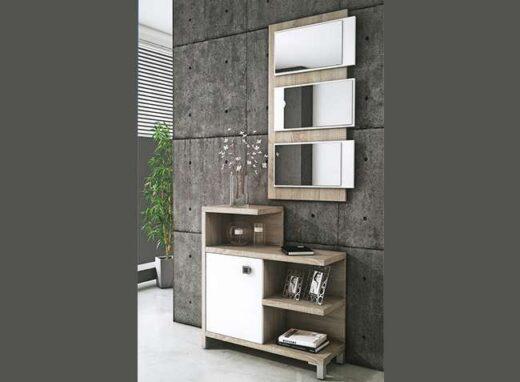 mueble-entrada-recibidor-estilo-moderno-estanterias-y-1-puerta-espejo-diseno