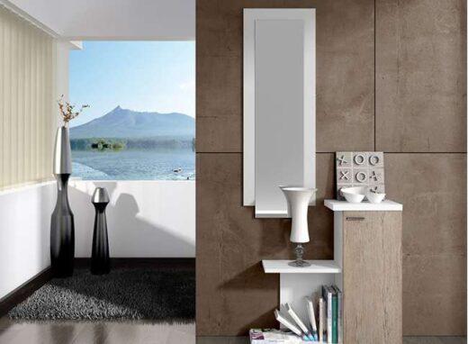 mueble-recibidor-moderno-color-blanco-con-puerta-grande-espejo-vertical