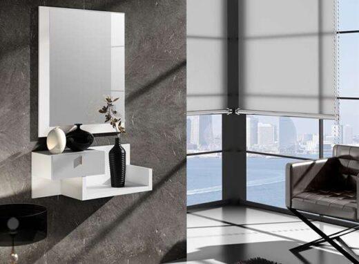 mueble-recibidor-pequeno-color-roble-con-1-cajon-y-espejo