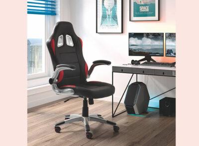 Silla escritorio gamer tapizada en polipiel