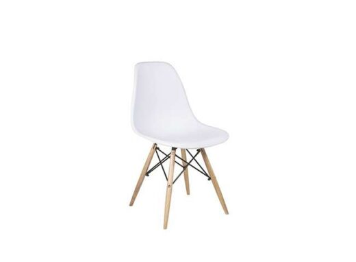 silla-estilo-nordico-de-madera-natural-asiento-ABS-en-color-blanco