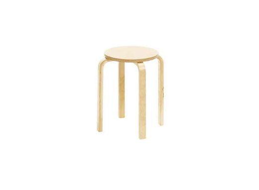silla-madera-barata-taburete-estilo-clasico