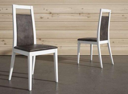 silla-madera-blanca-estilo-moderno-tapizada
