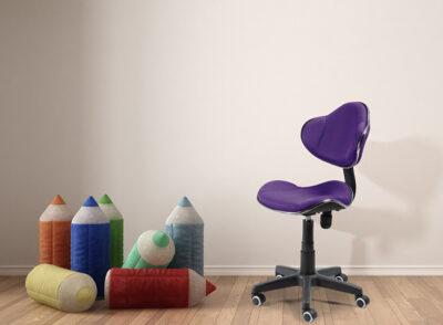 Silla de oficina acolchada con tejido 3D y estilo moderno