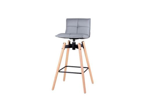silla-taburete-de-madera-maciza-base-metalica-giratoria