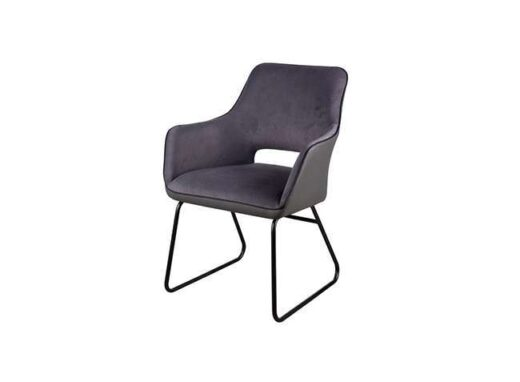 silla-tipo-sillon-tapizada-tela-suave-y-polipiel-con-estructura-acero