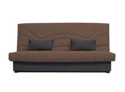 Sofá cama con diferentes tapizados y arcón