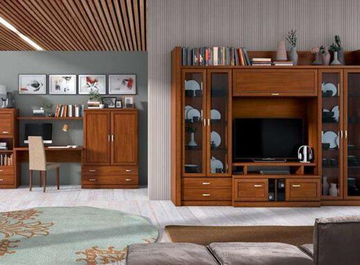 vitrinas-salon-laterales-doble-puerta-y-cajones-de-madera