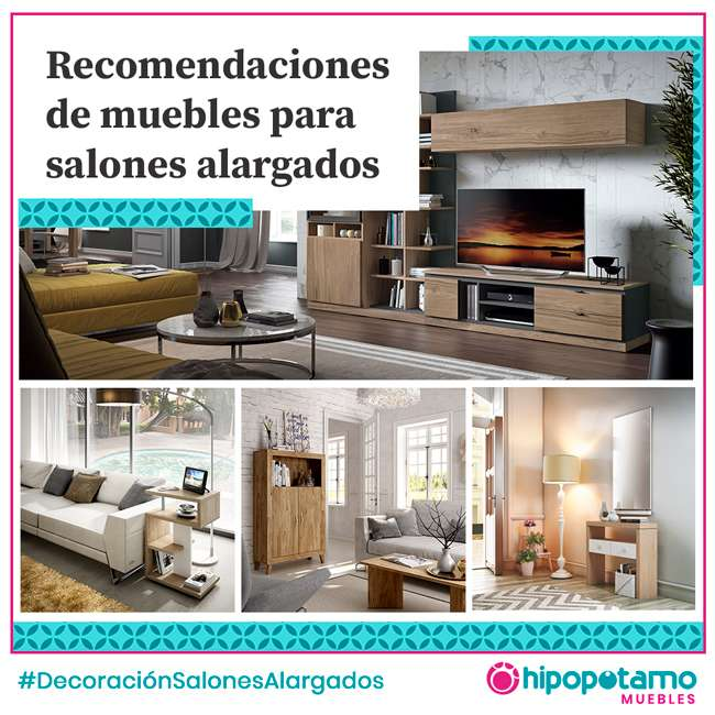 salones alargados ideas