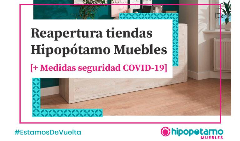 Apertura tiendas muebles coronavirus