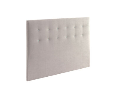 Cabecero para dormitorio de matrimonio tapizado beige