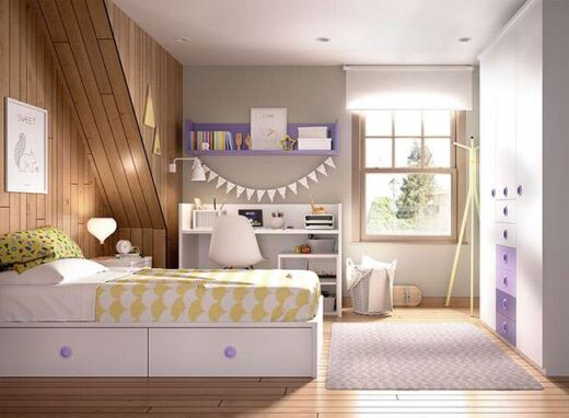 habitacion-infantil-completa-con-cuna-convertible-armario-con-cajones-y-estanteria-006joh5102
