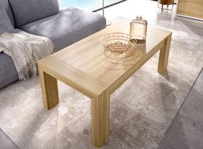 Mesa de centro elevable acabado madera en varios colores
