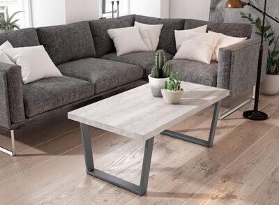 Mesa de centro estilo escandinavo (varios colores disponibles)