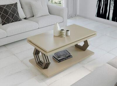 Mesa de centro salón moderno elevable en varios colores disponibles