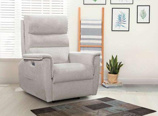 sillon-relax-manual-con-palanca-lateral-gris-090cordxl00