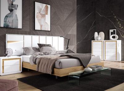 Cabecero cama diseño y mesitas incluidas