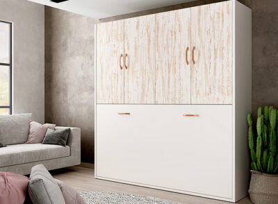 Cama abatible dormitorio juvenil con apertura horizontal