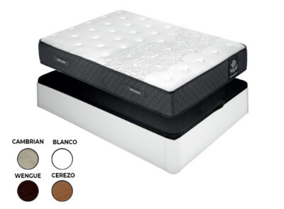 Canapé y colchón viscoelástico de 135 cm