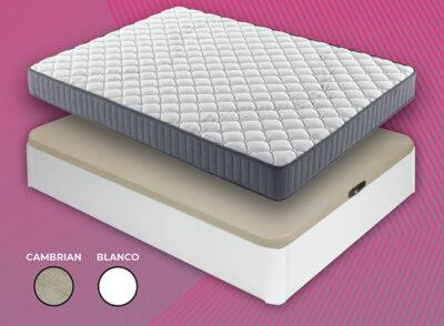 Canapé y colchón 150 cm disponible dos colores