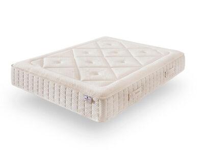 Colchón de 135×190 con núcleo Aquapur y tejido de algodón