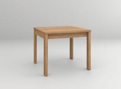 Mesa comedor extensible madera cuadrada
