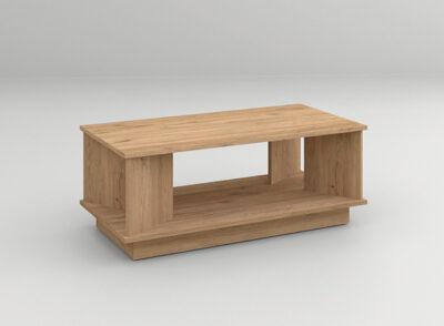 Mesa sofá madera para salón moderno