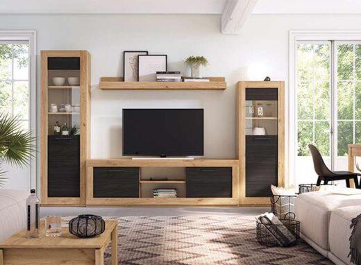 mueble-salon-madera-y-negro-para-salon-industrial-040gn10