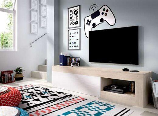 mueble-tv-minimalista-blanco-y-roble-con-puerta-y-hueco-para-dispositivos-006dk5458632