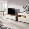 muebles-de-salon-claros-con-mueble-tv-y-aparador-madera-y-crudo