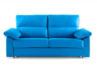 Sofá cama azul diseño italiano