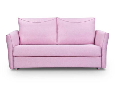 Sofá cama rosa de matrimonio