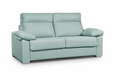 Sofá cama verde agua dos plazas