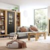 vitrina-salon-madera-y-negro-1 puerta