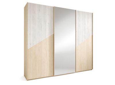 Armario puertas correderas espejo