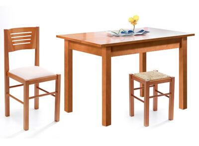 Mesa cocina madera fija en varias medidas